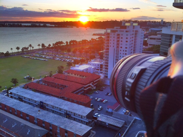 Perth Sunset from the Novotel
